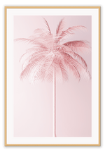 Load image into Gallery viewer, Italian Luxury Group Print 50x70cm / Natural Pink Palm Brand