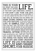 Load image into Gallery viewer, Holstee Manifesto