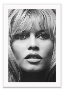 Italian Luxury Group Print 50x70cm / White Brigitte Bardot Brand