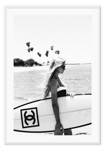 Italian Luxury Group Print 50x70cm / White Katerina Surf Brand