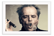Load image into Gallery viewer, Italian Luxury Group Print 50x70cm / White Jack Nicholson Brand