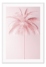 Load image into Gallery viewer, Italian Luxury Group Print 50x70cm / White Pink Palm Brand