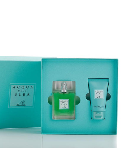 Acqua Dell'Elba Arcipelago Man Gift Box Eau de Parfum and Shower Gel - italianluxurygroup.com.au