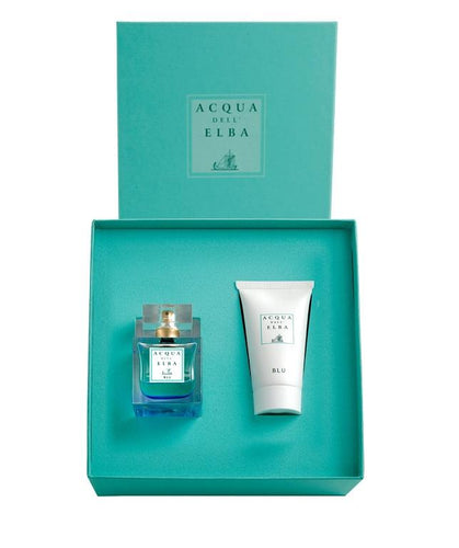 Acqua Dell'Elba Blu Woman Gift Box Eau de Parfum and Body Lotion - italianluxurygroup.com.au
