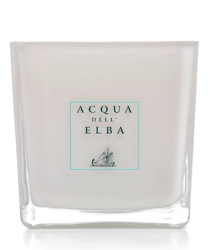 Acqua Dell'Elba Note di Natale Scented Candle 1260 g. White Glass Container - italianluxurygroup.com.au