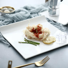 Load image into Gallery viewer, Ake Design White Ceramic Plate - italianluxurygroup.com.au
