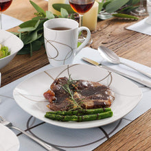 Load image into Gallery viewer, Camilla Porcelain Tableware Dinner Set 22pcs - italianluxurygroup.com.au