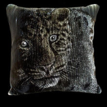 Load image into Gallery viewer, Dreamlux Optic Fibre Cushion Leopard Exclusive Collection. - italianluxurygroup.com.au