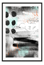 Load image into Gallery viewer, Italian Luxury Group Print 50x70cm / Black Gennaio Brand