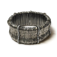 Load image into Gallery viewer, Giora' Allegra Bracelet with Swarovski Crystals Ruthenium - italianluxurygroup.com.au