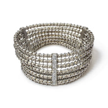 Load image into Gallery viewer, Giora' Clavdia Bracelet with Swarovski Crystal Rhodium - italianluxurygroup.com.au
