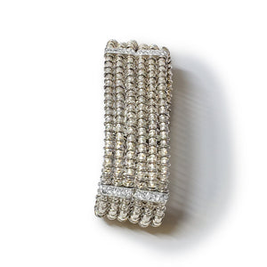 Giora' Clavdia Bracelet with Swarovski Crystal Rhodium - italianluxurygroup.com.au