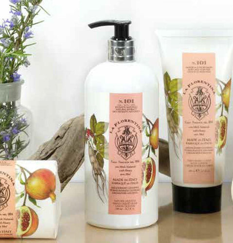 Herbarium Pomegranade & ginseng Hand Wash 500ml - italianluxurygroup.com.au
