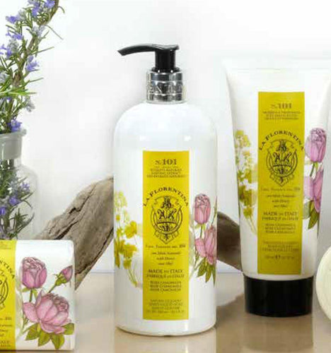 Herbarium Rose & Camomile Hand Wash 500ml - italianluxurygroup.com.au
