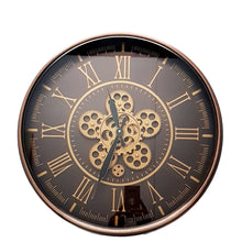 Load image into Gallery viewer, Hermes Round wall clock Rose Gold - italianluxurygroup.com.au