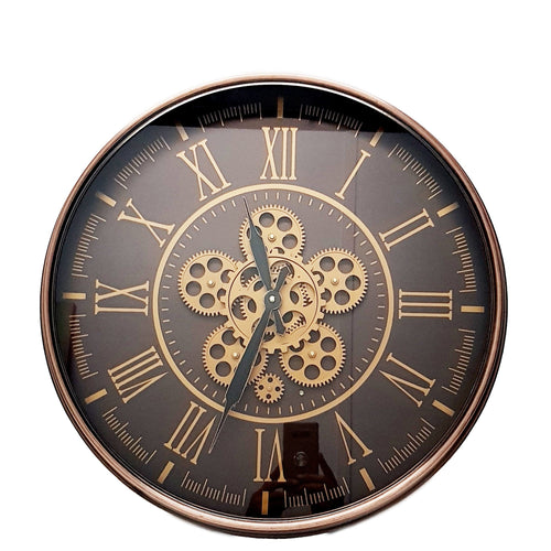 italianluxurygroup.com.au Clock Hermes Round wall clock Rose Gold Brand
