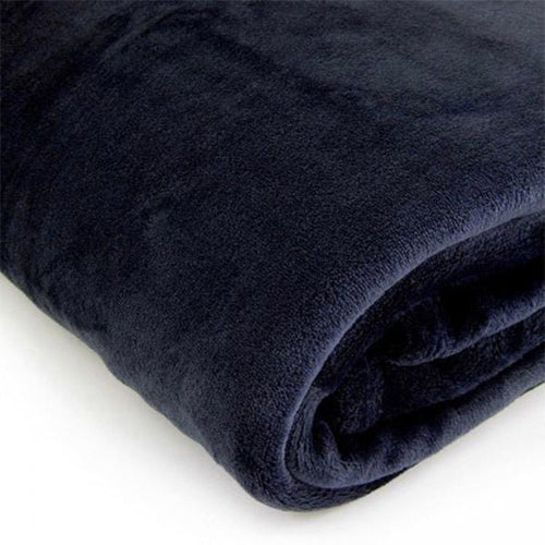 Brogo Micro Mink Supersoft Throw - Ink