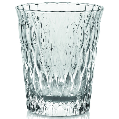 Ivv Loto Set 6 Tumbler Clear 320ml - italianluxurygroup.com.au
