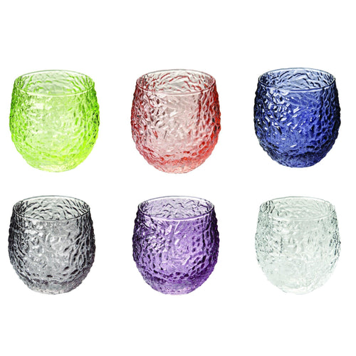 Ivv Paper Set 6 Tumbler Assorted Colours 250ml - italianluxurygroup.com.au