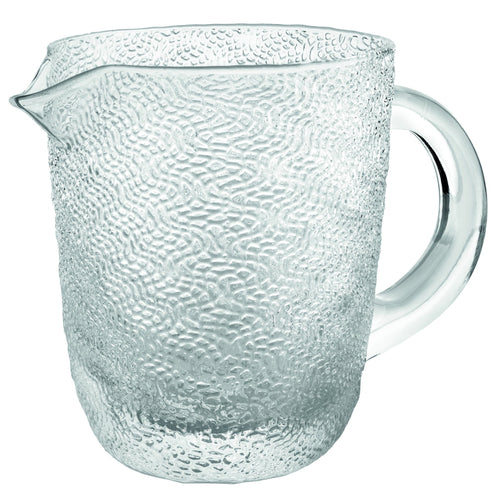 Ivv Tricot Pitcher With Handle H.15.5 Clear Lt.1,1 - italianluxurygroup.com.au
