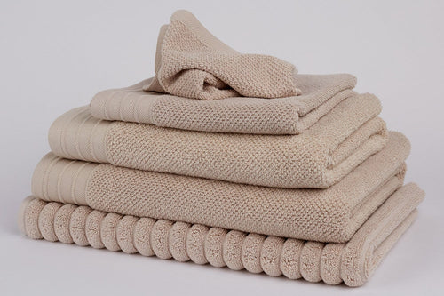 Bemboka Towelling Bemboka Towelling Pure Cotton Bath Towel - Jacquard Wheat Brand
