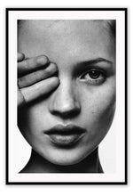 Load image into Gallery viewer, Kate Moss B&W - italianluxurygroup.com.au