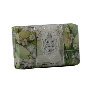 La Florentina Lily of the Valley Bar soap 200g - italianluxurygroup.com.au