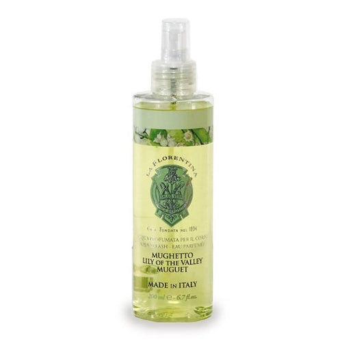La Florentina Lily of the Valley Body Splash Natural Tuscan Scent 200 ml - italianluxurygroup.com.au