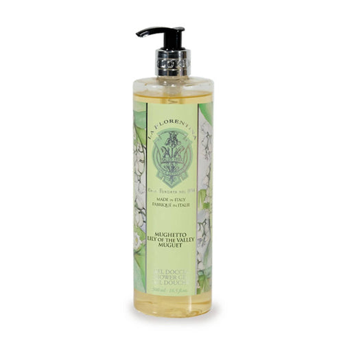 La Florentina Lily of the Valley Shower Gel 500 ml - italianluxurygroup.com.au