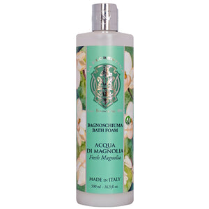 La Florentina Magnolia Bath Foam 500ml - italianluxurygroup.com.au