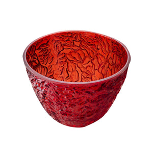 Mario Luca Giusti Afrodite Salad Bowl Red - italianluxurygroup.com.au