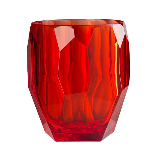 Mario Luca Giusti Antartica Plastic Ice Bucket Red - italianluxurygroup.com.au