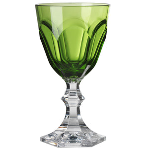 Mario Luca Giusti Dolce Vita Plastic Water Glass Green - italianluxurygroup.com.au