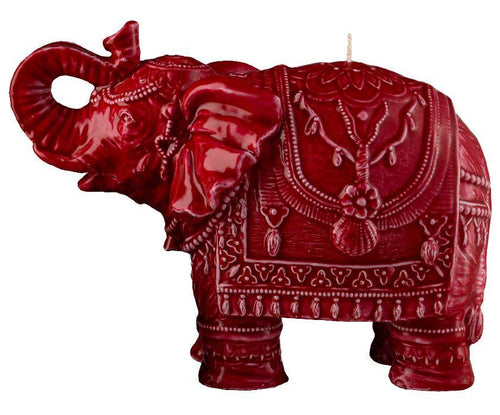 Mario Luca Giusti Elephant Candle Red - italianluxurygroup.com.au