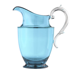Italian Luxury Group Pitchers & Jugs Mario Luca Giusti Federica Plastic Pitcher Turquoise Brand