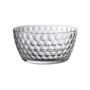 Italian Luxury Group Salad Bowls Mario Luca Giusti Lente Salad Bowl Clear Brand