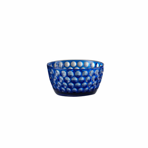 Mario Luca Giusti Lente Small Salad Bowl Blue - italianluxurygroup.com.au