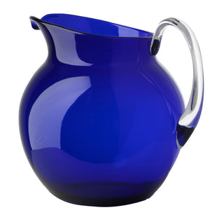 Italian Luxury Group Pitchers & Jugs Mario Luca Giusti Palla Plastic Jug Blue Colour Brand