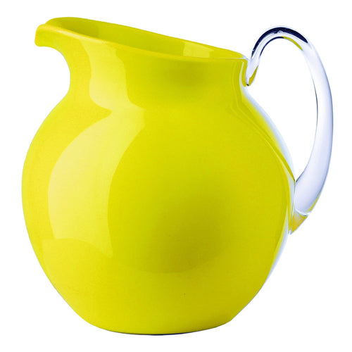 Mario Luca Giusti Palla Plastic Jug Yellow Colour - italianluxurygroup.com.au