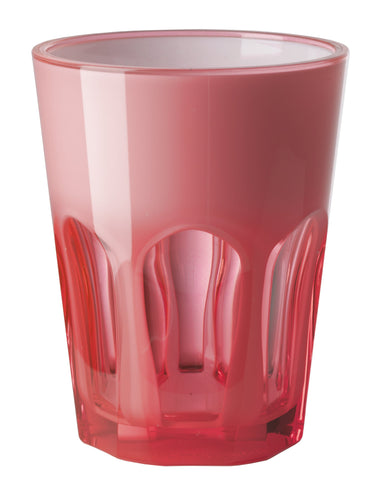 Mario Luca Giusti Set of 6 Double Face Plastic Cups Fuchsia - italianluxurygroup.com.au