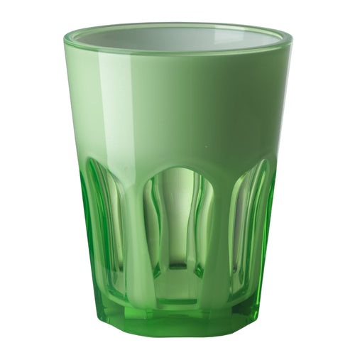 Mario Luca Giusti Set of 6 Double Face Plastic Cups Green - italianluxurygroup.com.au