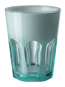 Mario Luca Giusti Set of 6 Double Face Plastic Cups Turquoise - italianluxurygroup.com.au