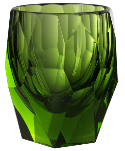 Italian Luxury Group Tumbler Mario Luca Giusti Super Milly Plastic Cup Green Brand