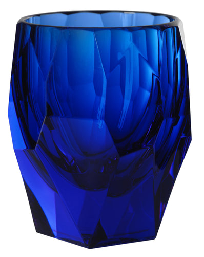 Italian Luxury Group Tumbler Mario Luca Giusti Super Milly Plastic Cup Royal Blue Brand
