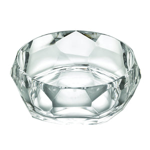 Mario Luca Giusti Supernova Plastic Salad Bowl Clear - italianluxurygroup.com.au