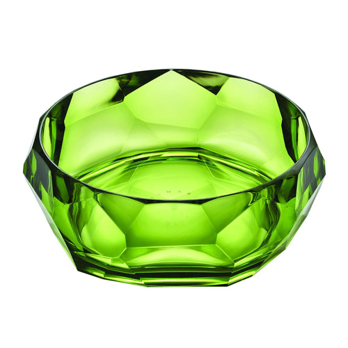 Mario Luca Giusti Supernova Plastic Salad Bowl Green - italianluxurygroup.com.au