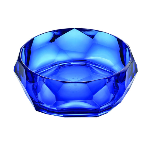 Mario Luca Giusti Supernova Plastic Salad Bowl Royal Blue - italianluxurygroup.com.au