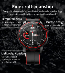 Men Sports Smart Watch Full touch screen - italianluxurygroup.com.au