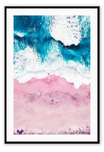 ITALIAN LUXURY GROUP Print Small		50x70cm / Black Pink Sand Brand