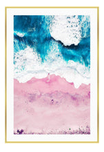 Load image into Gallery viewer, ITALIAN LUXURY GROUP Print Small		50x70cm / Gold Pink Sand Brand